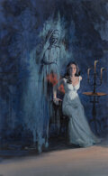 Pulp, Pulp-like, Digests and Paperback Art, Victor Prezio (American, 1924-1976) The Torm...
