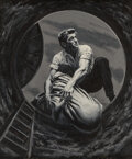 Pulp, Pulp-like, Digests and Paperback Art, Victor Prezio (American, 1924-1976) Murder D...