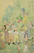 Pulp, Pulp-like, Digests and Paperback Art, Johnny Gruelle (American, 1880-1938) Childre...