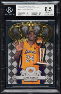 Basketball Cards:Singles (1980-Now), 2010 Crown Royale National Convention VIP Kobe Bryant #VIP1 BGS NM-MT+ 8.5. ...