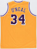 """Autographs:Jerseys, Shaquille O'Neal Signed """"Shaq Diesel"""" Jersey. ..."""