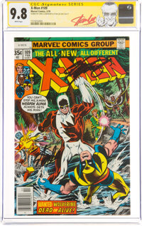 X-Men #109 Signature Series: Stan Lee and Chris Claremont (Marvel, 1978) CGC NM/MT 9.8 White pages