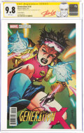 Modern Age (1980-Present):Superhero, Generation X #4 Variant Cover - Signature Series: Stan Lee and Jim Lee (Marvel, 2017) CGC NM/MT 9.8 White pages....