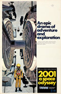 """Movie Posters:Science Fiction, 2001: A Space Odyssey (MGM, 1968). Flat Folded, Very Fine-. Cinerama One Sheet (27"""" X 41"""") Style C, Robert McCall Artwork.. ..."""