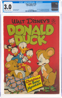 Four Color #178 Donald Duck (Dell, 1947) CGC GD/VG 3.0 Off-white to white pages