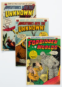 Adventures Into The Unknown Group of 7 (ACG, 1950-52) Condition: Average FN-.... (Total: 7 Comic Books)