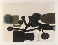 Victor Pasmore (1909-1998) The Harmony of Opposites, 1986 Etching and aquatint in colors on Fabriano