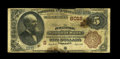 National Bank Notes:Virginia, Purcellville, VA - $5 1882 Brown Back Fr. 477 The Purcellville NBCh. # (S)6018. ...