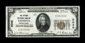 National Bank Notes:Pennsylvania, Tionesta, PA - $20 1929 Ty. 1 The Citizens NB Ch. # 5040. ...