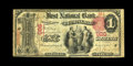 National Bank Notes:Pennsylvania, Pittsburgh, PA - $1 1875 Fr. 385 The First NB of Birmingham Ch. #926. ...