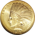 Indian Eagles, 1912 $10 MS66 NGC....