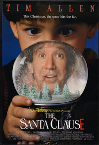 "The Santa Clause (Buena Vista, 1994). Lenticular One Sheet (27"" X 40"") DS. Comedy"