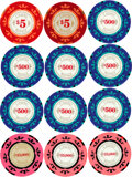 """Movie Posters:James Bond, Casino Royale (MGM, 2006). Very Fine+. Screen-Used Clay Poker Chips (14) (Diameter: 1.5"""") & Prototype Casino Plaques (2) (4.... (Total: 14 Items)"""