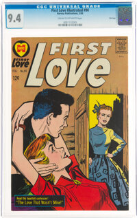First Love Illustrated #90 File Copy (Harvey, 1963) CGC NM 9.4 Cream to off-white pages