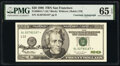 Small Size:Federal Reserve Notes, Mary Ellen Withrow Courtesy Autographed Fr. 2084-L* $20 1996 Federal Reserve Star Note. PMG Gem Uncirculated 65 EPQ.. ...