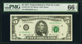 Small Size:Federal Reserve Notes, Fr. 1973-H* $5 1974 Federal Reserve Star Note. PMG Gem Unc...