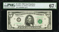 Small Size:Federal Reserve Notes, Fr. 1973-L* $5 1974 Federal Reserve Star Note. PMG Superb ...