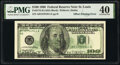 Error Notes:Offsets, Full Back to Face Offset Error Fr. 2175-H $100 1996 Federal Reserve Note. PMG Extremely Fine 40.. ...