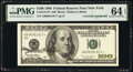 Small Size:Federal Reserve Notes, Mary Ellen Withrow Courtesy Autographed Fr. 2175-B* $100 1996 Federal Reserve Star Note. PMG Choice Uncirculated 64 EPQ.. ...