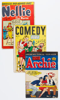 Golden Age Humor Comics Canadian Editions Group of 13 (Various Publishers, 1940s-50s) Condition: Average VG.... (Total:...