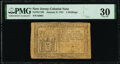 Colonial Notes:New Jersey, New Jersey January 9, 1781 4s PMG Very Fine 30.