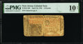 Colonial Notes:New Jersey, New Jersey April 16, 1764 £3 PMG Very Good 10 Net.