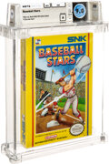 Video Games:Other, Baseball Stars - Wata 9.0 A Sealed [Oval SOQ TM], NES SNK 1989 USA. ...