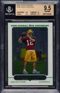 Football Cards:Singles (1970-Now), 2005 Topps Chrome Aaron Rodgers #190 BGS Gem Mint 9.5. ...