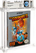 Video Games:Other, The Goonies II - Wata 9.4 A+ Sealed [Oval SOQ TM, Later Production], NES Konami 1987 USA. ...