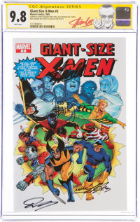 Giant-Size X-Men #3 Signature Series: Stan Lee and Others (Marvel, 2005) CGC NM/MT 9.8 White pages