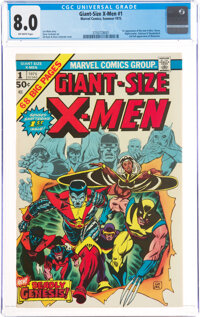 Giant-Size X-Men #1 (Marvel, 1975) CGC VF 8.0 Off-white pages