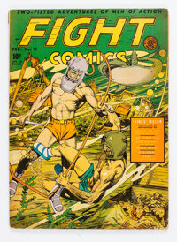 Fight Comics #11 (Fiction House, 1941) Condition: VG/FN