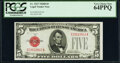 Small Size:Legal Tender Notes, Fr. 1527 $5 1928B Legal Tender Note. PCGS Very Choice New ...