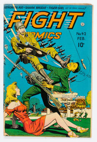 Fight Comics #42 (Fiction House, 1946) Condition: FN-