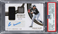 Baseball Cards:Singles (1970-Now), 2019 Panini Immaculate Collection Eloy Jimenez (Dugout Collection Auto Relics) #DC-EJ PSA Mint 9, Auto 10 - #'d 24/25....