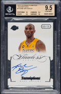 Basketball Cards:Singles (1980-Now), 2012 Panini Flawless Kobe Bryant (Inscriptions) #3 BGS Gem Mint 9.5, Auto 10, #'d 3/25 - None Higher!...