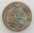 Washingtonia, Possibly Unique Washington Medalet, Pewter or Lead, Very Fine.. Ex: NASCA (R.M. Smythe and Co., 5/1987), lot 1877, which r...
