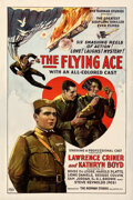 """Movie Posters:Black Films, The Flying Ace (Norman, 1926). Fine+ on Linen. One Sheet (27"""" X 41"""").. ..."""