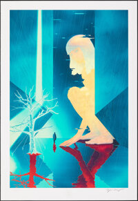 Blade Runner 2049, 386/1739 by James Jean (Private Commission, 2017). Mint. Hand Signed and Numbered Limited Edition Gic...