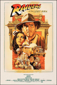 Raiders of the Lost Ark, AP 17/22 by Paul Mann (Paul Mann, 2020). Mint. Hand Signed and Numbered Artist's Proof of a Lim...