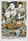 """Movie Posters:Science Fiction, Blade Runner, 153/250 by Tyler Stout (Mondo, 2008). Near Mint/Mint. Hand Numbered Limited Edition Screen Print (36"""" X 24""""; 9..."""