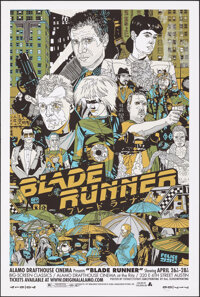 """Blade Runner, 153/250 by Tyler Stout (Mondo, 2008). Near Mint/Mint. Hand Numbered Limited Edition Screen Print (36""""..."""
