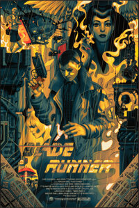 Blade Runner, AP 34/40 by James Jean (Private Commission, 2017). Mint. Hand Numbered Artist's Proof of a Limited Edition...