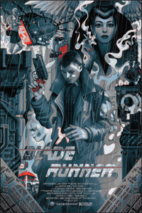 Blade Runner, AP 30/40 by James Jean (Private Commission, 2017). Mint. Hand Numbered Artist's Proof of a Variant Limited...