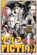 """Movie Posters:Crime, Pulp Fiction, 62/150 by Joshua Budich (Spoke Art, 2020). Mint. Hand Signed and Numbered Limited Edition Screen Print (36"""" X ..."""