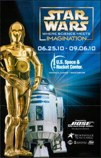 Star Wars: Where Science Meets Imagination (U.S. Space & Rocket Center, 2010). Folded, Very Fine. Traveling Exhibiti...