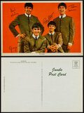 """Movie Posters:Rock and Roll, The Beatles Lot (1960s-1970s). Overall Grade: Very Fine. Jumbo Postcard (6"""" X 9""""), Album Insert Poster (22"""" X 32.75"""")..."""