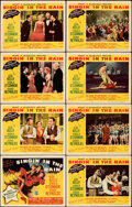 """Singin' in the Rain (MGM, 1952). Fine/Very Fine. Lobby Card Set of 8 (11"""" X 14""""). ... (Total: 8 Items)"""