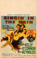 """Movie Posters:Musical, Singin' in the Rain (MGM, 1952). Folded, Fine/Very Fine. Window Card (14"""" X 22"""").. ..."""