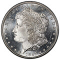 Morgan Dollars: , 1885-S $1 MS64+ PCGS. PCGS Population: (2743/732 and 120/60+). NGC Census: (1406/250 and 32/3+). CDN: $550 Whsle. Bid for N...